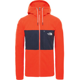 The North Face Blocked TKA 100 - Veste Homme - rouge/bleu